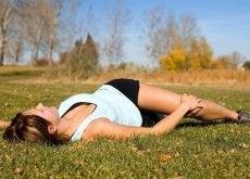Anumite întinderi ameliorează durerea de spate