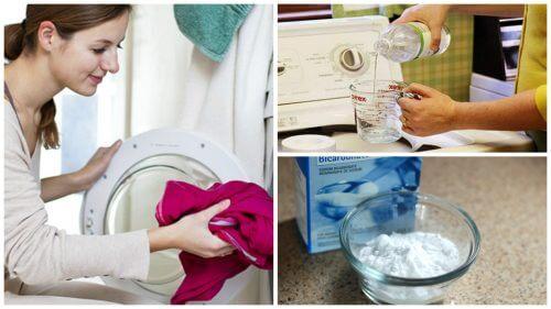 Elimină mirosul urât al hainelor cu produse naturale