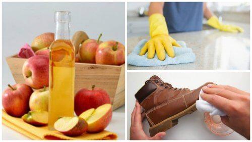 Oțetul de mere: 7 întrebuințări casnice