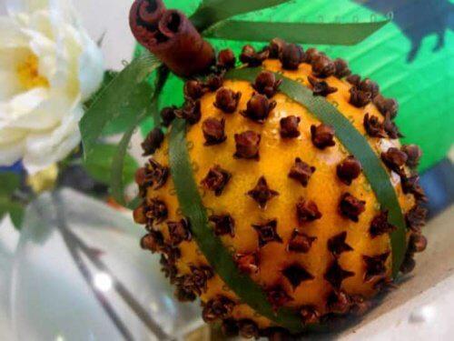 Portocala și cuișoarele alungă muștele