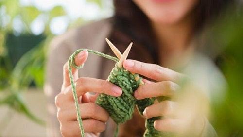 Beneficiile tricotatului - aduce bună dispoziție