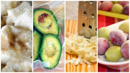 9 alimente care pot fi congelate
