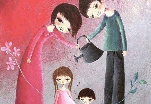 A crește un copil înseamnă a-l lăsa să își creeze propria identitate