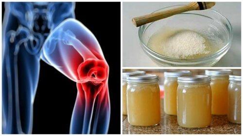 gelatina durerii articulare va ajuta