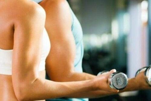 Masă musculară la femei și bărbați