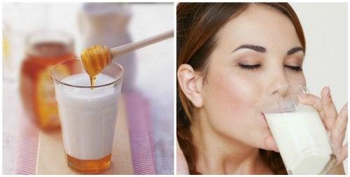 7 motive pentru a bea lapte cu miere înainte de culcare