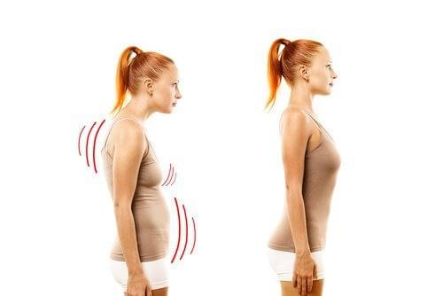 Postura corpului e importantă pentru a avea sâni fermi