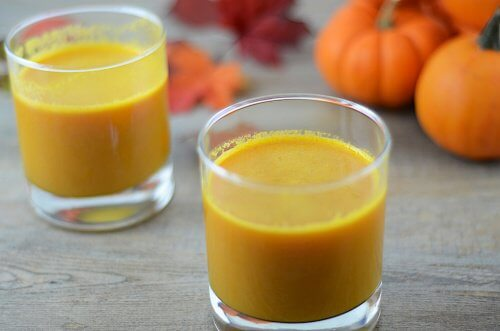 Acest smoothie cu dovleac ajută la detoxifierea rinichilor