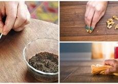 Există diverse trucuri pentru a repara mobilierul de lemn