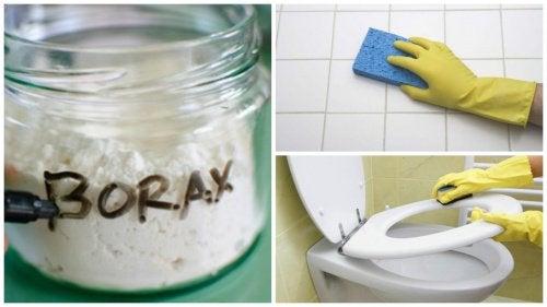 8 utilizări ale boraxului în gospodărie