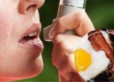 Anumite alimente agravează simptomele cauzate de astm