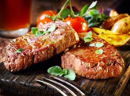 Carnea ameliorează hipotensiunea
