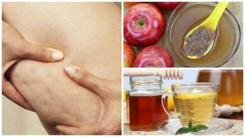 Poți combate celulita cu oțet de mere și miere de albine