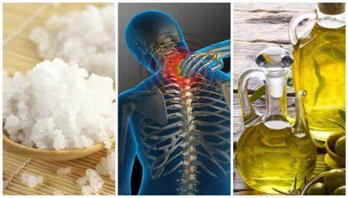 Durerile articulațiilor – remediu cu sare și ulei