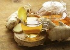 Ceaiul de ghimbir și aloe vera este o băutură foarte sănătoasă