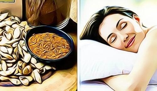 Semințele de dovleac te ajută să adormi mai ușor