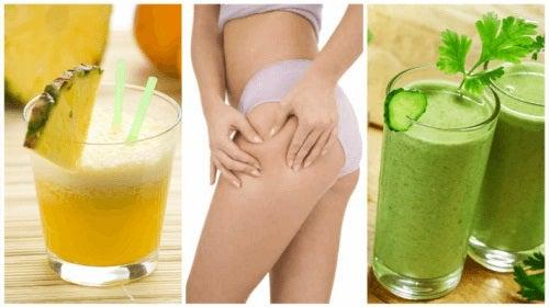 5 smoothie-uri diuretice care combat retenția de apă