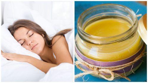 Folosește un unguent natural care te ajută să dormi mai bine