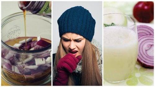 5 remedii cu ceapă care pot ameliora tusea