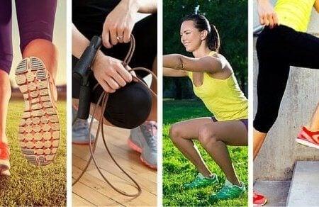 Când execuți exerciții, consumi o anumită cantitate de energie