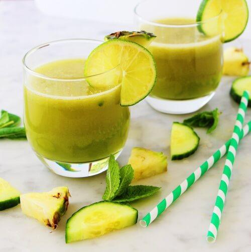 Îți reglezi digestia cu smoothie de mere