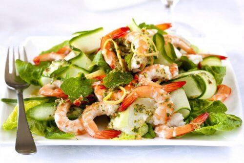 Nu toate salatele sunt potrivite în curele de slăbire