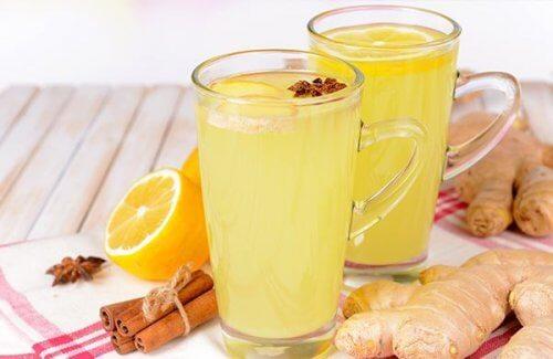 Sucul de portocale și ghimbir ajută la curățarea ficatului