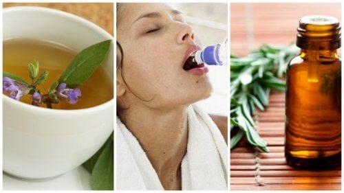 Transpirația excesivă poate fi tratată cu remedii naturale