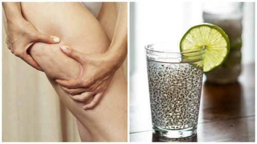 Băutură cu semințe de in pentru combaterea celulitei