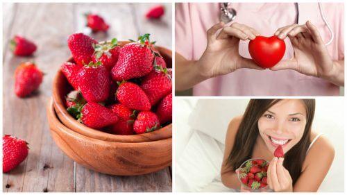 8 beneficii ale căpșunelor asupra sănătății