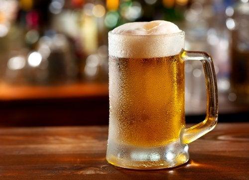 Berea este exclusă din regimul pentru gută