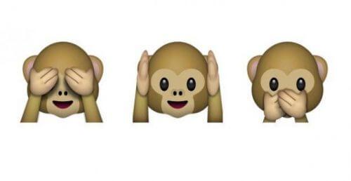 Cele trei maimuțe înțelepte oferă o lecție de viață