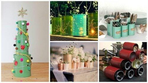 Conservele reciclate sunt benefice pentru mediul înconjurător