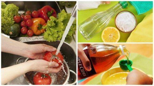7 metode naturale de a dezinfecta fructele și legumele