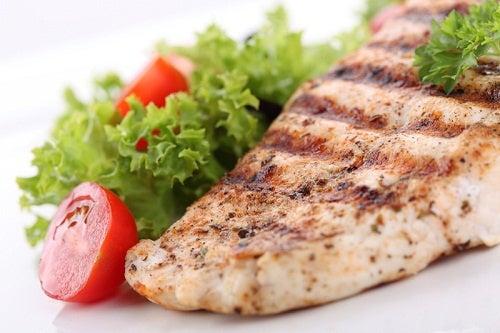 Peștele alb este interzis în regimul pentru gută
