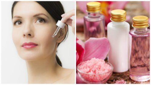 4 seruri naturale pentru întinerirea pielii