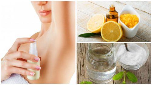 Prepară-ți acasă un deodorant natural