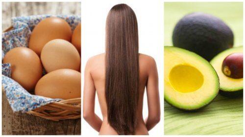 8 alimente care stimulează creșterea părului