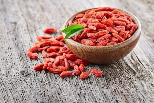 Fructele goji îți îmbunătățesc starea generală de sănătate