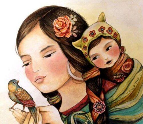 Instinctul matern exemplifică înțelepciunea naturii