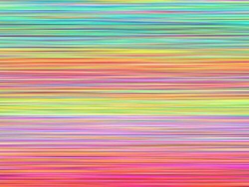 Desenează linii colorate pentru a-ți elibera mintea de gânduri supărătoare