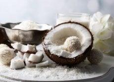 Nuca de cocos se află pe lista de alimente grase, dar sănătoase