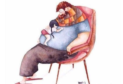 Un părinte bun îi oferă susținere necondiționată copilului său