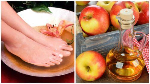 6 moduri în care oțetul combate problemele picioarelor