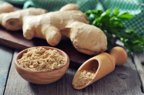 Consumă ghimbir și alte alimente care susțin sănătatea arterială