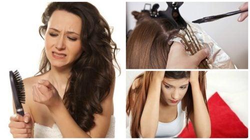Căderea masivă a părului: carențe și boli care o pot provoca