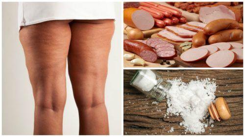 Evită aceste 7 alimente pentru a combate celulita
