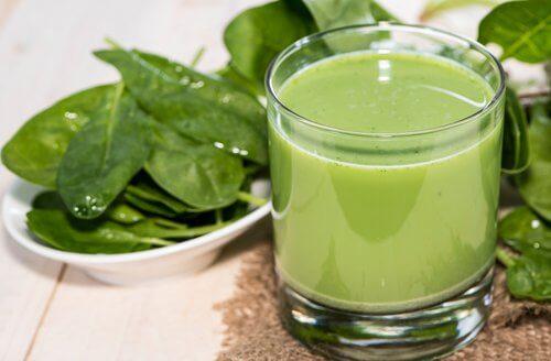 Ingredientele verzi susțin detoxificarea organismului