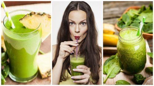 Detoxificarea organismului cu 5 smoothie-uri verzi