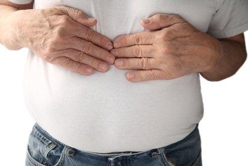 Dispepsia este unul dintre simptomele neobișnuite ale refluxului acid